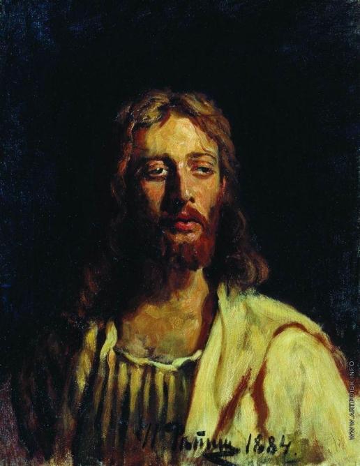 Репин И. Е. Христос. Этюд