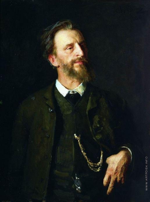 Репин И. Е. Портрет художника Г.Г.Мясоедова