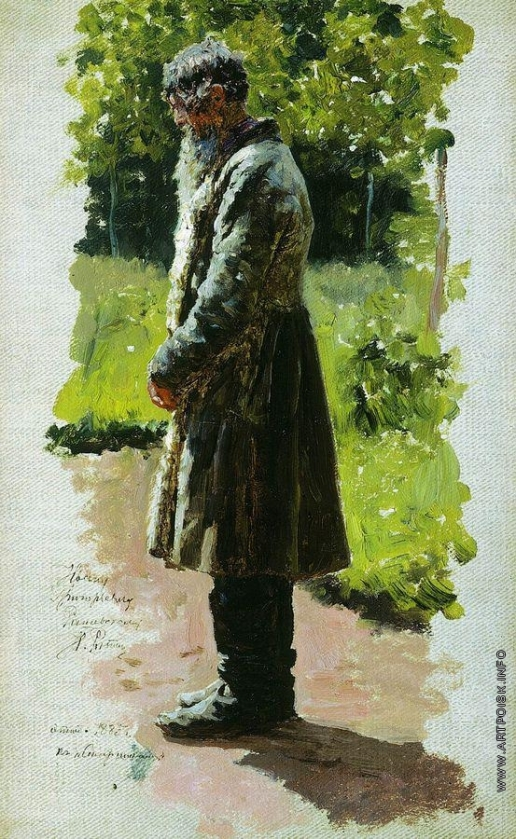 Репин И. Е. Старый крестьянин