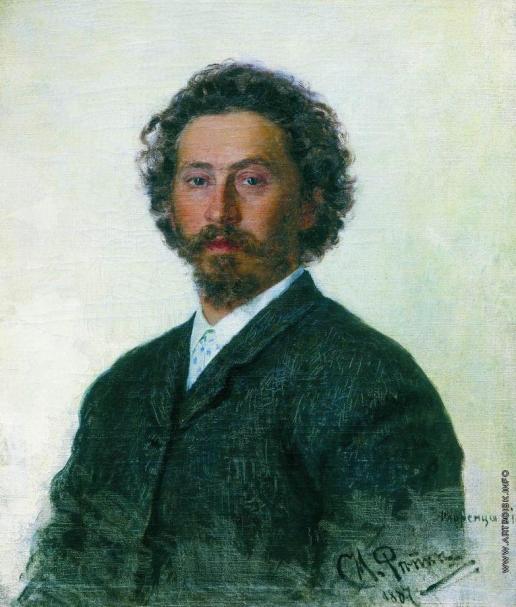 Репин И. Е. Автопортрет