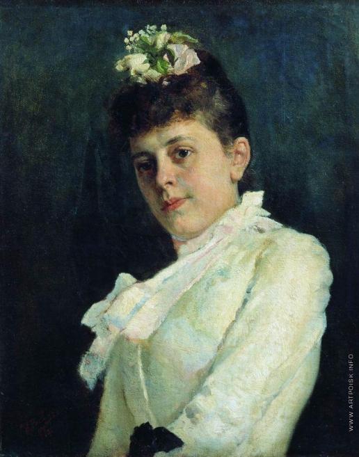 Репин И. Е. Женский портрет