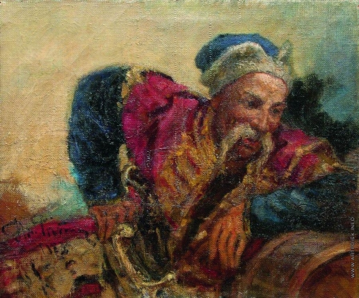 Репин И. Е. Казак (Атаман Серко)