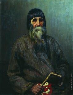 Репин И. Е. Портрет крестьянина