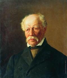 Максимов В. М. Мужской портрет