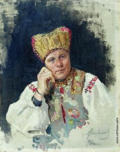 Максимов В. М. Русская крестьянка