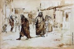 Репин И. Е. Пророк. Иллюстрация к стихотворению М.Ю. Лермонтова