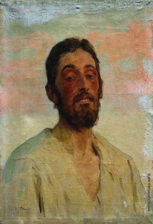 Репин И. Е. Мужской портрет