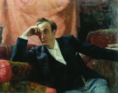 Репин И. Е. Портрет артиста Г.Г.Ге
