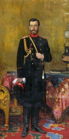 Репин И. Е. Портрет Николая II