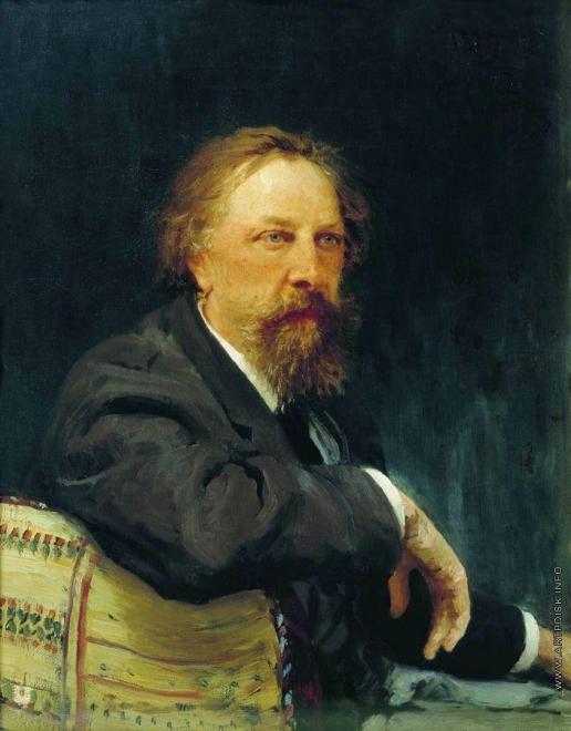 Репин И. Е. Портрет А.К.Толстого