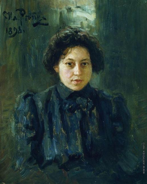 Репин И. Е. Портрет Н.И.Репиной, дочери художника