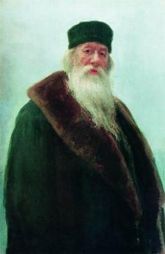 Репин И. Е. Портрет Владимира Васильевича Стасова, художественного и музыкального критика, историка искусств