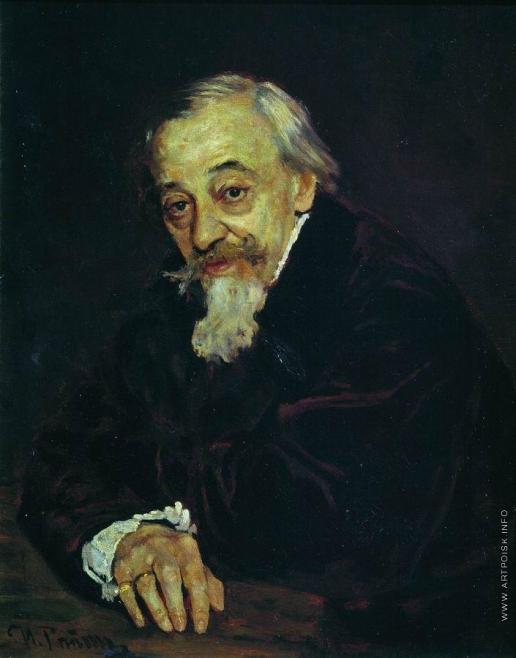Репин И. Е. Портрет артиста В.В.Самойлова
