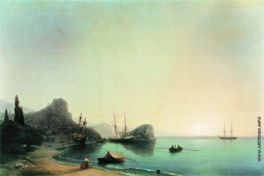 Айвазовский И. К. Итальянский пейзаж