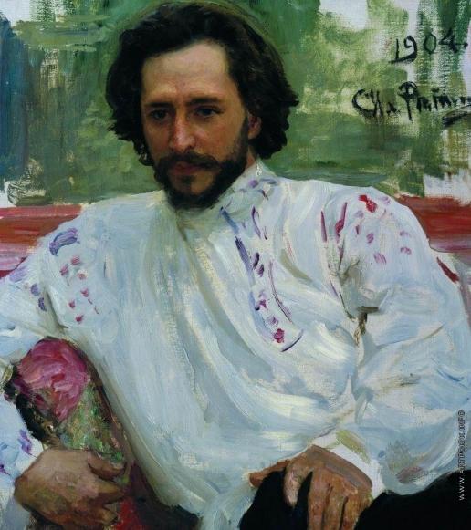 Репин И. Е. Портрет Л.Н.Андреева