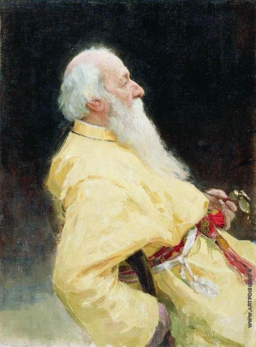 Репин И. Е. Портрет В.В.Стасова