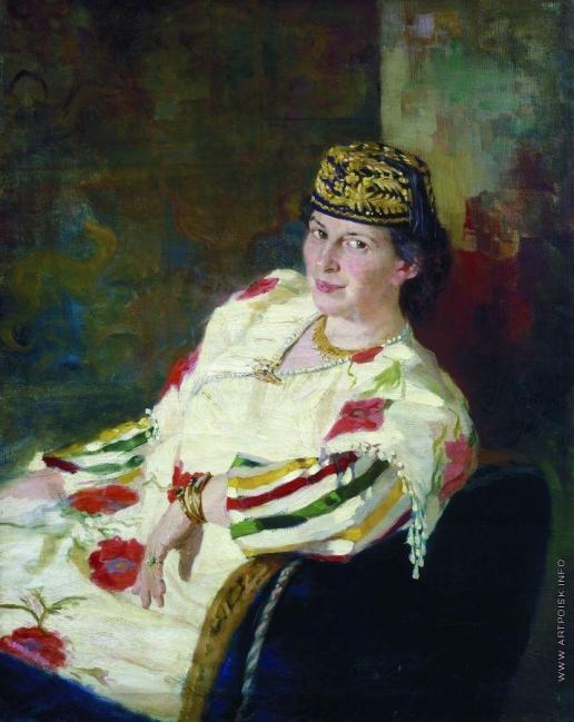 Репин И. Е. Портрет М.К.Олив