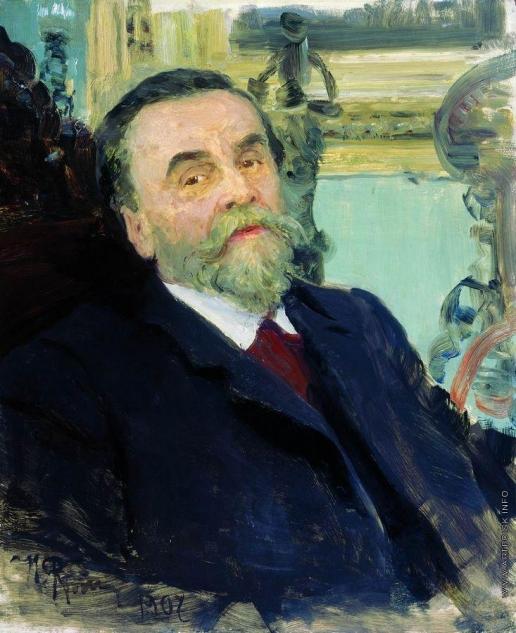 Репин И. Е. Портрет собирателя картин и рисунков русских художников И.Е.Цветкова