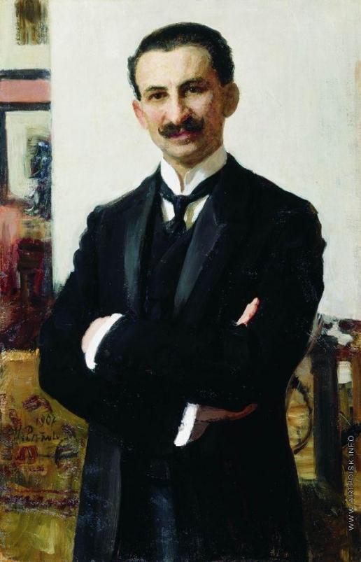 Репин И. Е. Портрет Г.И.Шоофса