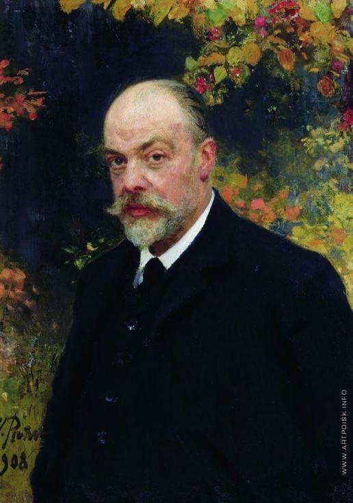 Репин И. Е. Портрет Крючкова