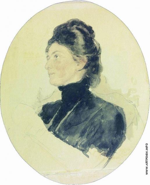 Репин И. Е. Портрет Марии Борисовны Чуковской
