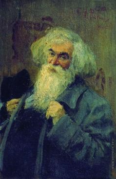 Репин И. Е. Портрет писателя И.И.Ясинского