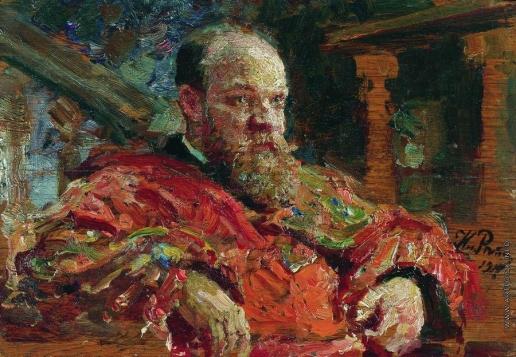 Репин И. Е. Портрет Н.В.Делярова
