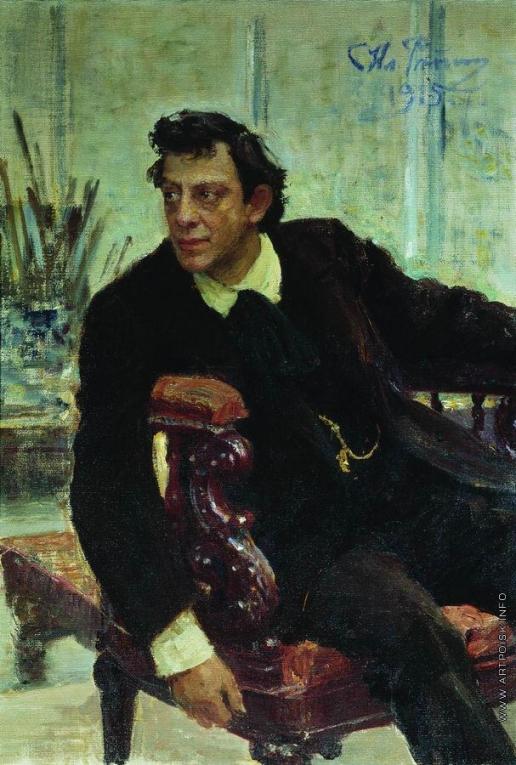 Репин И. Е. Портрет артиста П.В.Самойлова