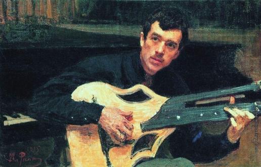 Репин И. Е. Портрет художника В.С.Сварога