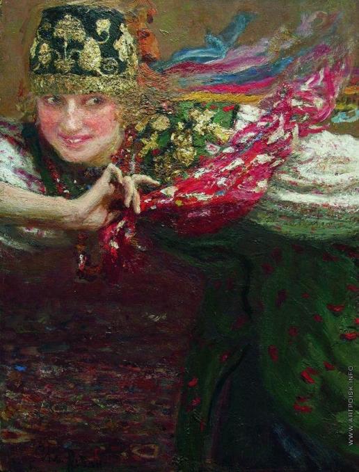 Репин И. Е. Танцующая