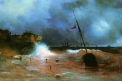 Айвазовский И. К. Конец бури на море