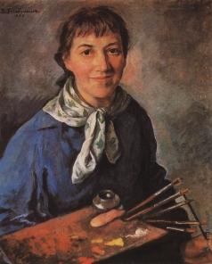 Серебрякова З. Е. Автопортрет