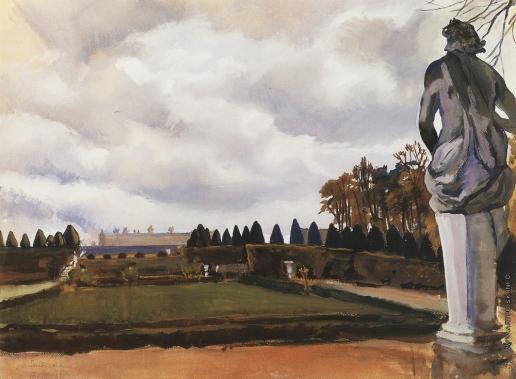 Серебрякова З. Е. Версальский парк осенью