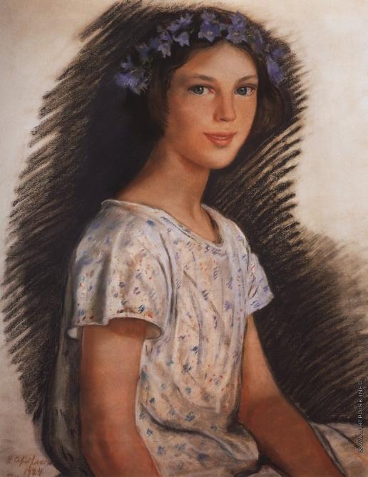 Серебрякова З. Е. Портрет Веры Макаровой