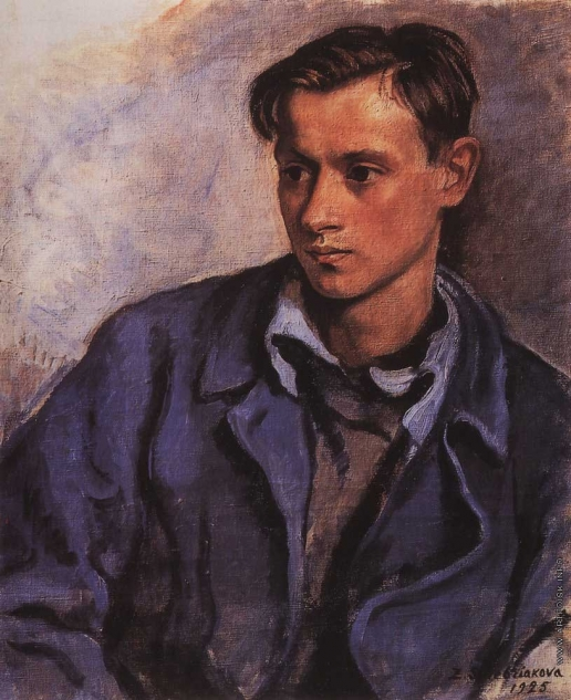 Серебрякова З. Е. Портрет сына Александра