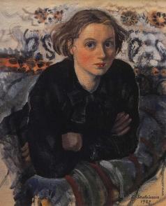 Серебрякова З. Е. Портрет дочери Кати