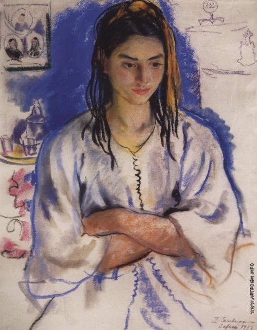Серебрякова З. Е. Еврейская девушка из Сефру