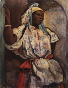 Серебрякова З. Е. Марокканка в белом