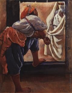 Серебрякова З. Е. Марокко. Фигуры в дверях