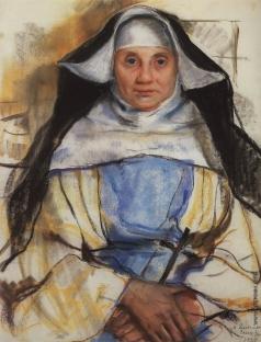 Серебрякова З. Е. Монахиня из Кассиса