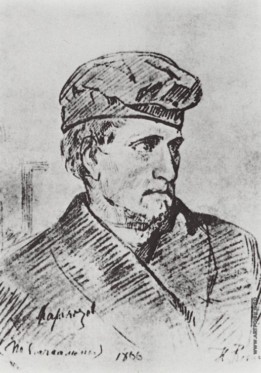 Репин И. Е. Д.В.Каракозов.