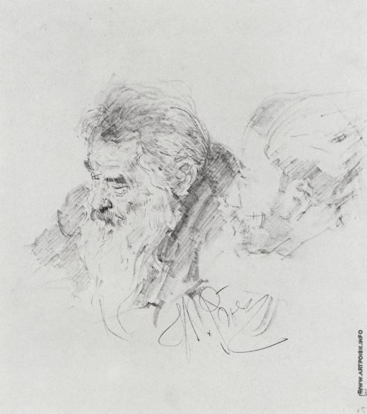 Репин И. Е. И.И.Шишкин на заседании совета Академии художеств