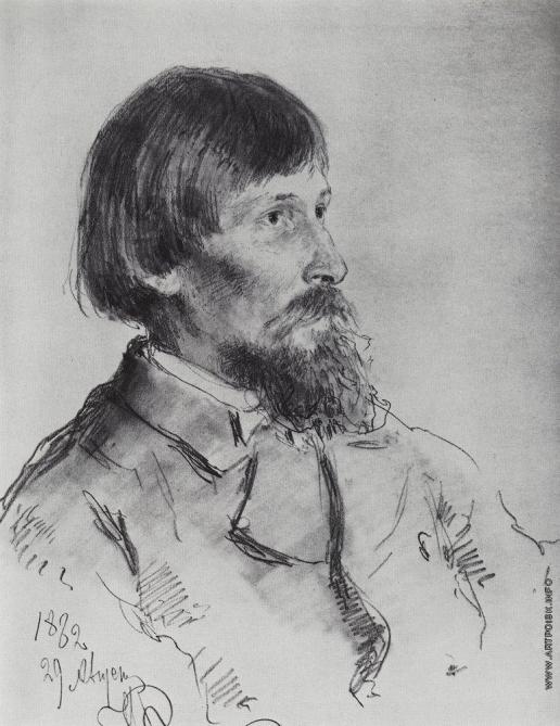Репин И. Е. Портрет