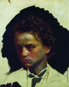 Репин И. Е. Портрет скульптора И. Я. Гинцбург