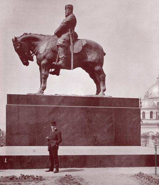 Трубецкой П. П. Памятник Александру III