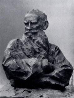 Трубецкой П. П. Портрет Л. Н. Толстого