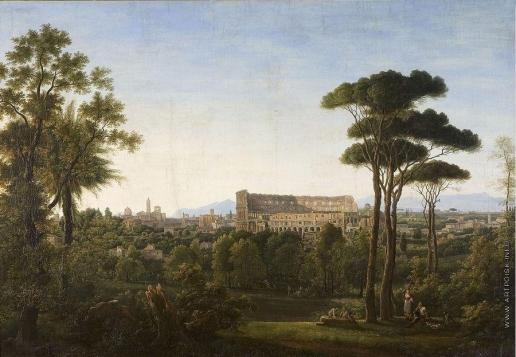 Матвеев Ф. М. Вид Рима. Колизей