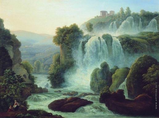 Матвеев Ф. М. Каскад близ Рима