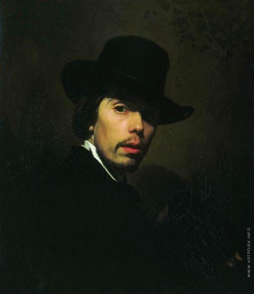 Неврев Н. В. Автопортрет