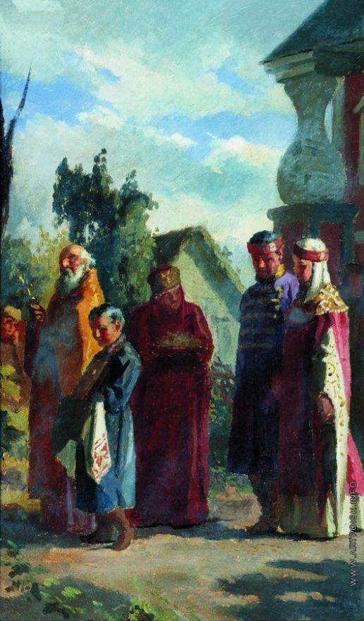 Неврев Н. В. Свадебное шествие